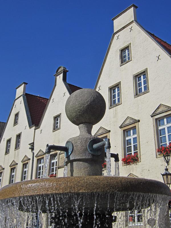 Rollrasen Haltern, Altes Rathaus in Haltern am See